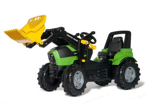 Rolly Toys Traktors ar pedāļiem rollyFarmtrac Deutz Agrotron 7250 TTV ar noņemāmo kausu 710034 ( 3 – 8 gadiem) Vācija