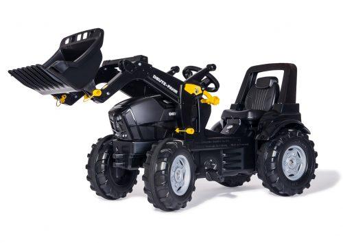 Rolly Toys Traktors ar pedāļiem rollyFarmtrac Deutz Agrotron TTV Warrior ar noņemāmo kausu 710348 ( 3 – 8 gadiem) Vācija