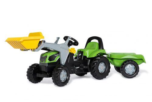 Traktors ar pedāļiem rollyKid Deutz-Fahr Agropuls 420 (2,5-5g.)