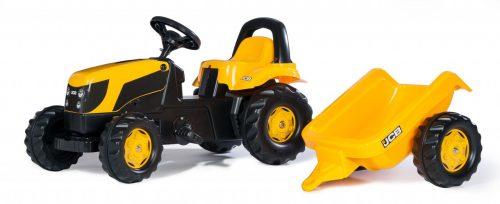 Traktors ar pedāļiem rollyKid JCB (2,5-5g.)