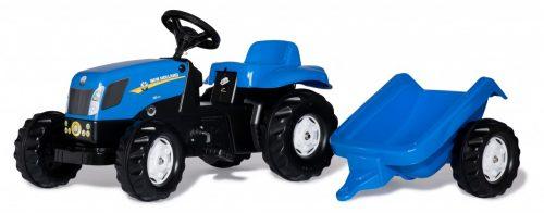 Traktors ar pedāļiem rollyKid NH T7040 (2,5-5g.)