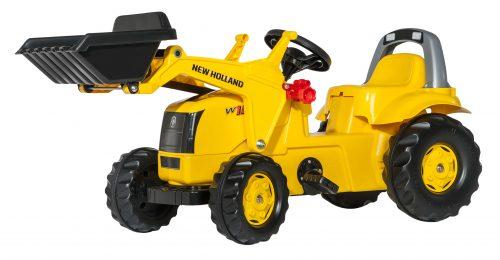 Traktors ar pedāļiem rollyKid New Holand Construction (2,5-5g.)