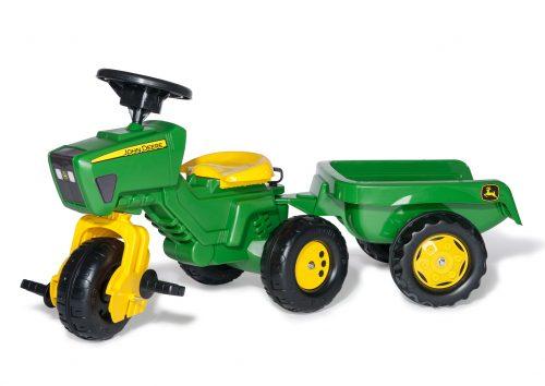 Traktors ar pedāļiem rollyTrac John Deere (2,5-5g.)