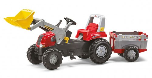 Traktors ar pedāļiem rollyJunior RT (3-8g.)