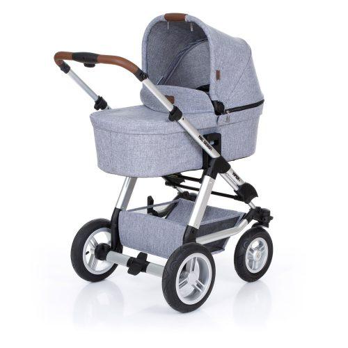 ABC-Design  bērnu rati 2in1 Viper 4 graphite grey (2019)