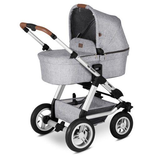 ABC-Design  bērnu rati 2in1 Viper 4 graphite grey (2020)