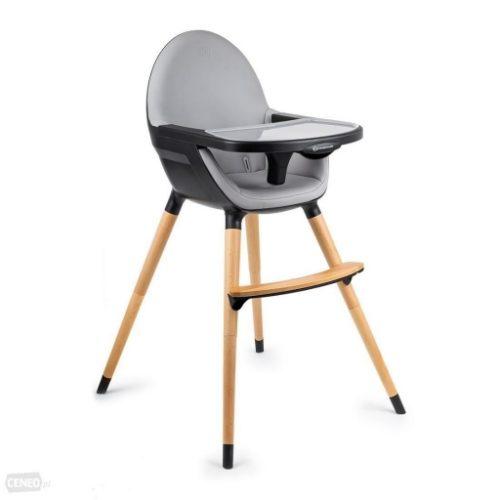 KINDERKRAFT barošanas krēslinš FINI black