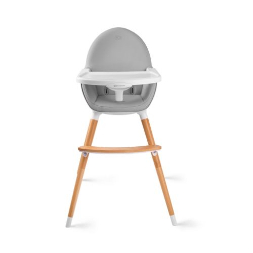 KINDERKRAFT barošanas krēslinš Fini Grey