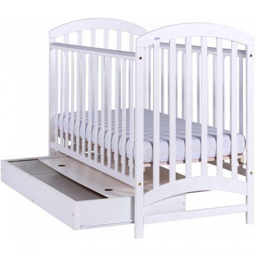 DREWEX ADEL bērnu gulta + kaste 120×60, balts