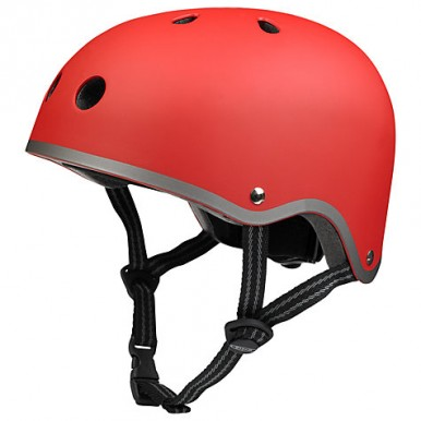 """Bērnu ķivere """" Micro Helmet""""  sarkana"""