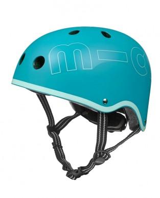 "Bērnu ķivere "" Micro Helmet"" tumši zila ar gaiši zilu maliņu"