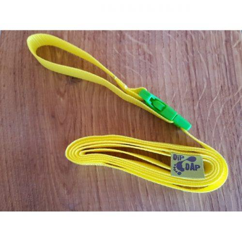DIP DAP Plecu siksniņa (dzeltena)Iegādājama komplektā ar DIP DAP skrejriteni