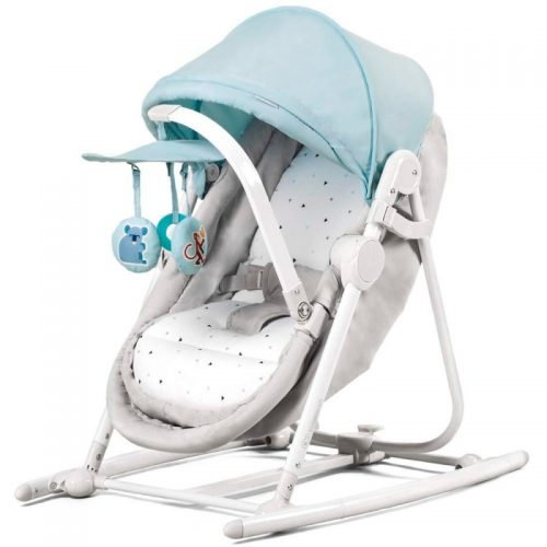 KINDERKRAFT šūpulis 5IN1 UNIMO light blue