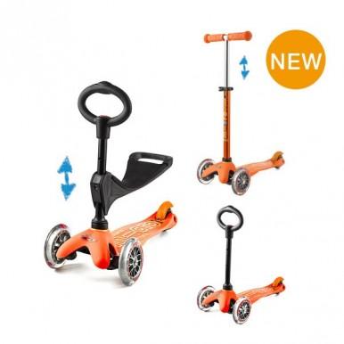skrejritenis  Micro Mini 3 in 1 – oranžs