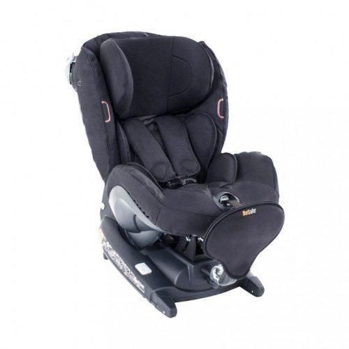 BeSafe autokrēsliņš  iZi Combi X4, pret braukšanas virzienā: 0-18kg, braukšanas virzienā 9-18 kg Fresh Black Cab
