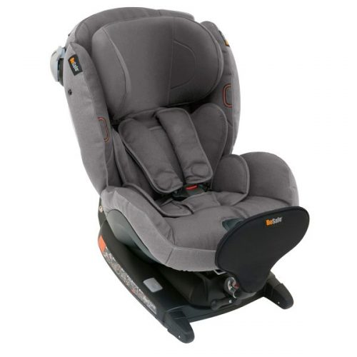 BeSafe autokrēsliņš  iZi Combi X4, pret braukšanas virzienā: 0-18kg, braukšanas virzienā 9-18 kg Metallic Melange