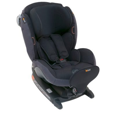 BeSafe autokrēsliņš  iZi Combi X4, pret braukšanas virzienā: 0-18kg, braukšanas virzienā 9-18 kg Midnight Black Melange