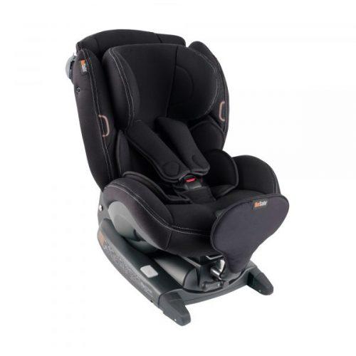 BeSafe autokrēsliņš  iZi Combi X4, pret braukšanas virzienā: 0-18kg, braukšanas virzienā 9-18 kg Premium Car Interior Black
