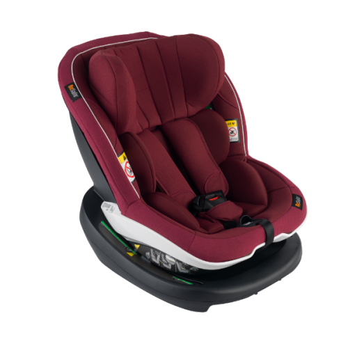 BeSafe autokrēsliņš iZi Modular i-Size 61-105cm, max 18kg Burgundy Melange