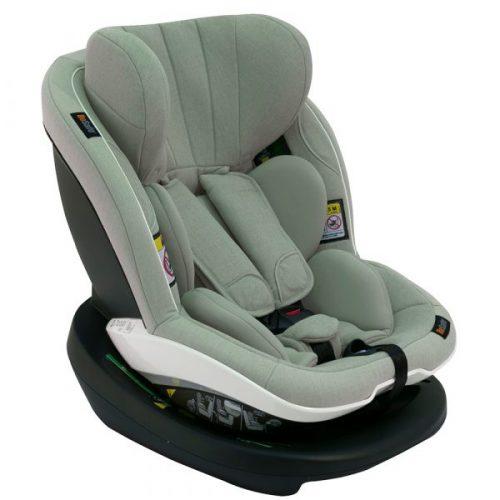 BeSafe autokrēsliņš iZi Modular i-Size 61-105cm, max 18kg Sea Green Melange