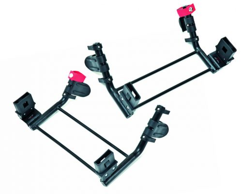 TFK Adapteris 0 grupas autokrēsliņam Twin Trail dvīņu ratiem (diviem autokrēsliņiem)