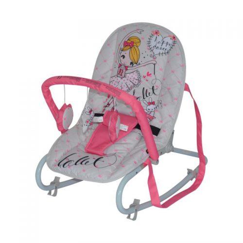 Šūpuļkrēsls LORELLI TOP RELAX  PINK BALLET
