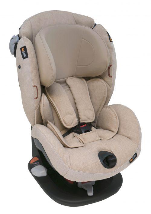 BeSafe autokrēsliņš iZi Comfort X3, 9-18 kg Ivory Melange