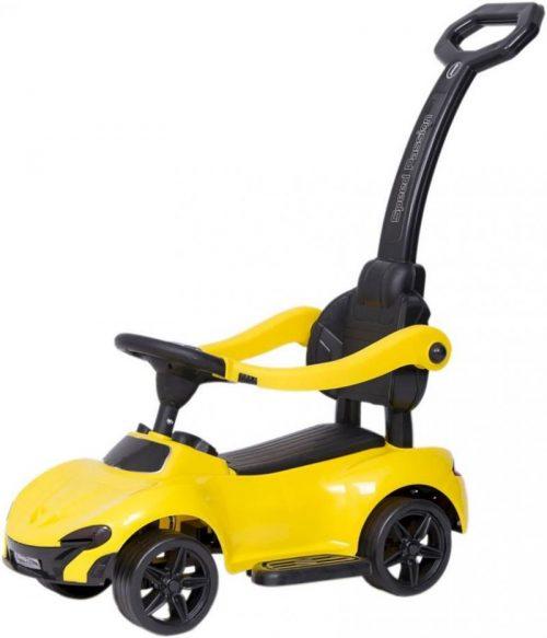 AS Bērnu stumjamā mašīna ar rokturi SPEED PASSION 811-2 dzeltena