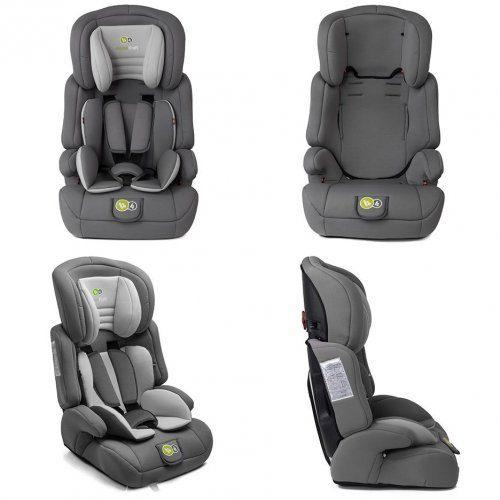 Autosēdeklītis 9-36 kg, Grupa 2/3 KinderKraft'18 Comfort Up Grey