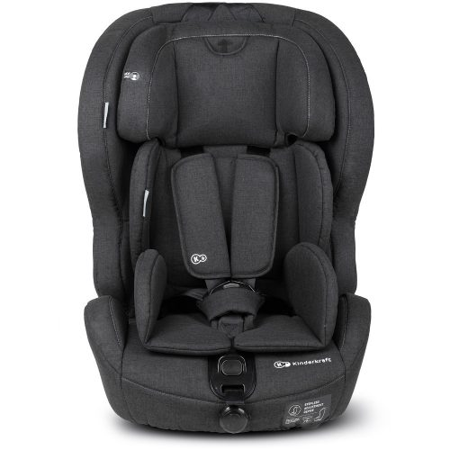 Autosēdeklītis 9-36 kg, Grupa 2/3 KinderKraft'18 Safety- Fix Isofix  Black