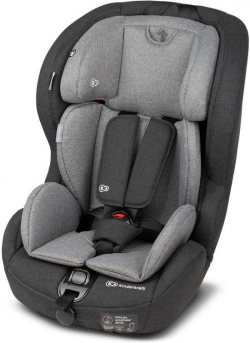 Autosēdeklītis 9-36 kg, Grupa 2/3 KinderKraft'18 Safety- Fix Isofix Black/Grey