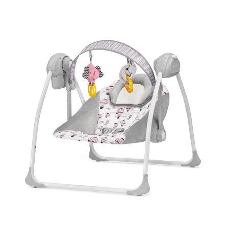 Bērnu  šūpuļkrēsls / šūpoles KinderKraft'18 Flo Pink