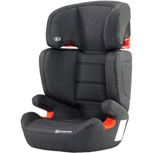 Bērnu autokrēsls 15-36 kg KinderKraft'19 Junior Fix  Black