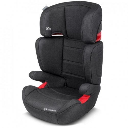 Bērnu autokrēsls 15-36 kg KinderKraft'19 Junior Plus  Black