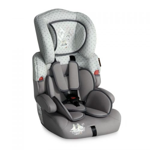 Bērnu autokrēsls 9-36kg Lorelli KIDDY  GREY TRAVELLING