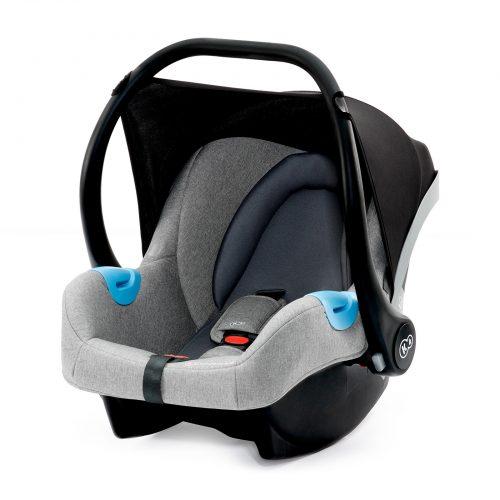 Bērnu autosēdeklis 0-13 kg KinderKraft '19 Mink Grey Melange