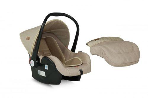 Bērnu autosēdeklis 0-13kg BEIGE LORELLI LIFESAVER