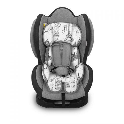 Bērnu autosēdeklis 0-25kg LORELLI SIGMA+SPS  GREY CITIES