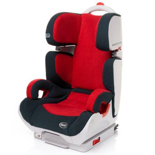 Bērnu autosēdeklis  15-36kg  4BABY QUESTO-FIX  – Red