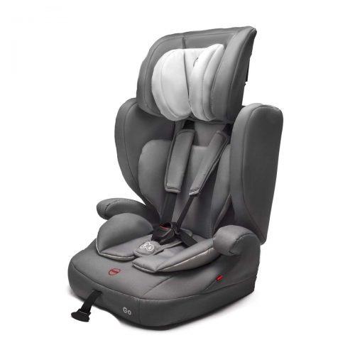 Bērnu autosēdeklis 9-36 kg ( I-II-III ) KinderKraft Go Grey