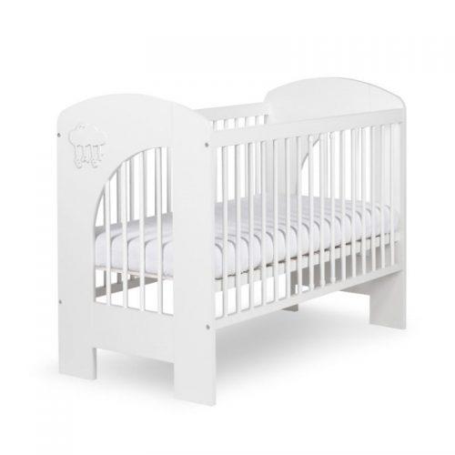 Bērnu gulta 120x60cm KLUPS NEL CHMURKA, balta