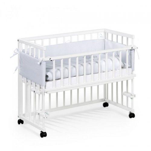 Bērnu gulta 95x45cm KLUPS Piccolo Due , balta