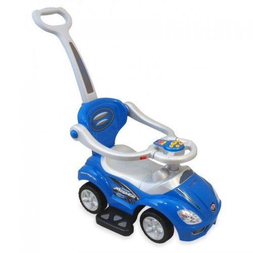 Bērnu stumjamā mašīna 3in1 BABY MIX   MEGA CAR 00382, zils