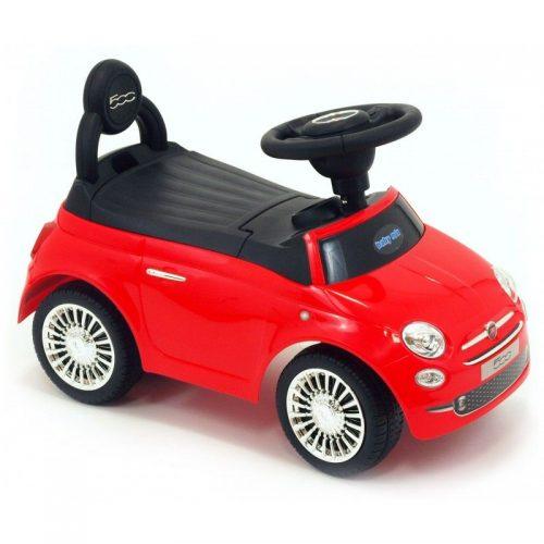 Bērnu stumjamā mašīna BABY MIX FIAT 500 , HZ620 sarkans