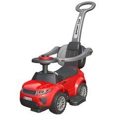 Bērnu stumjamā mašīna BABY MIX HZ614  – sarkana