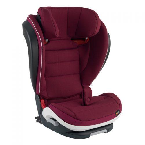 BeSafe autokrēsliņš iZi FlexFIX i-Size, 100-135/150 cm Burgundy Melange