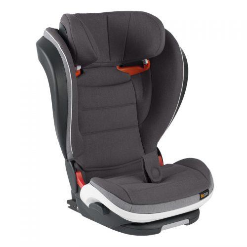 BeSafe autokrēsliņš iZi FlexFIX i-Size, 100-135/150 cm Metallic Melange