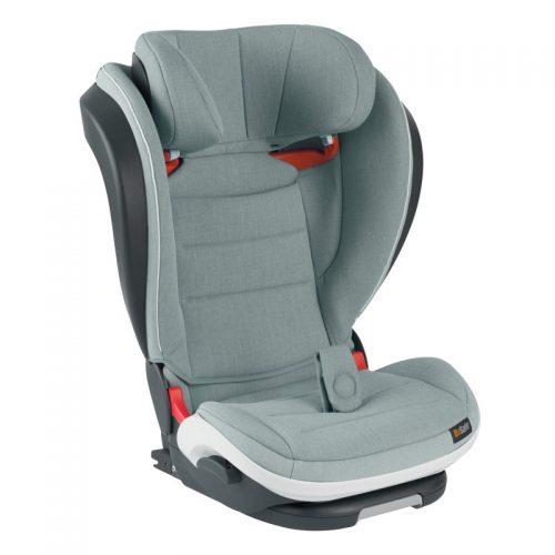 BeSafe autokrēsliņš iZi FlexFIX i-Size, 100-135/150 cm Sea Green Melange