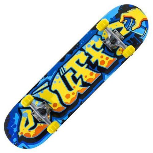 Skrituļdēlis Enuff Graffiti II – zils+dzeltens