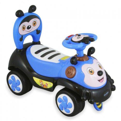 Stumjamā mašīna BABY MIX Bitīte  7625 zils